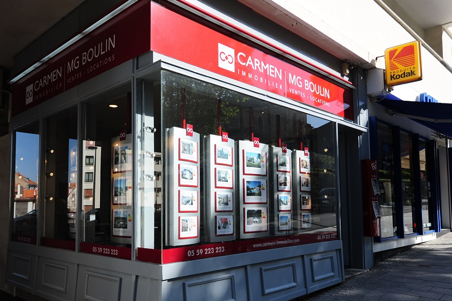 Carmen mg boulin agence immobili re biarritz carmen for Agence immobiliere 59