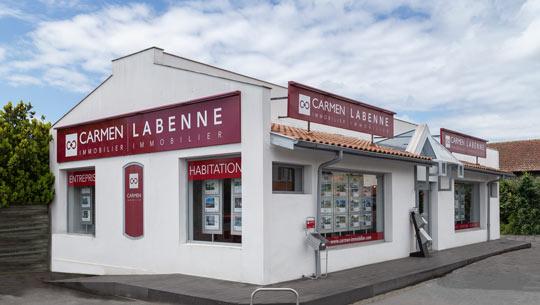 Logo Carmen Labenne Immobilier