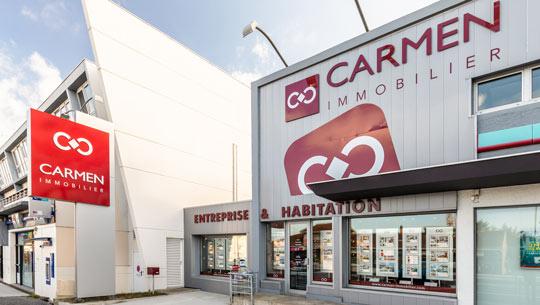Logo Carmen Entreprises Anglet