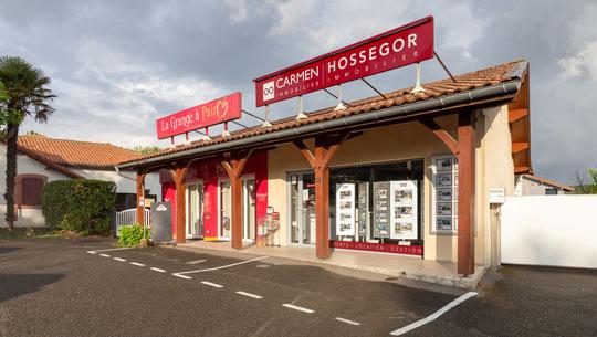 Logo Carmen Hossegor Immobilier