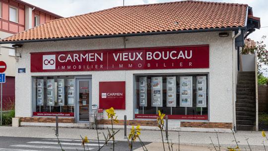 Logo Carmen Vieux Boucau Immobilier