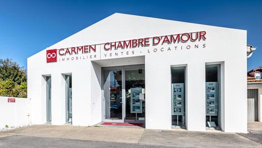 Logo Carmen Chambre d'Amour
