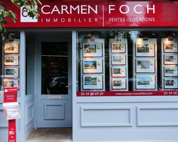 Carmen foch agence immobili re bayonne carmen immobilier for Agence immobiliere ustaritz