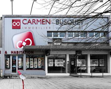 Carmen entreprises anglet agence immobili re anglet for Agence immobiliere ustaritz