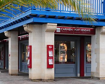 Carmen port hendaye agence immobili re hendaye - Agence immobiliere port marianne ...