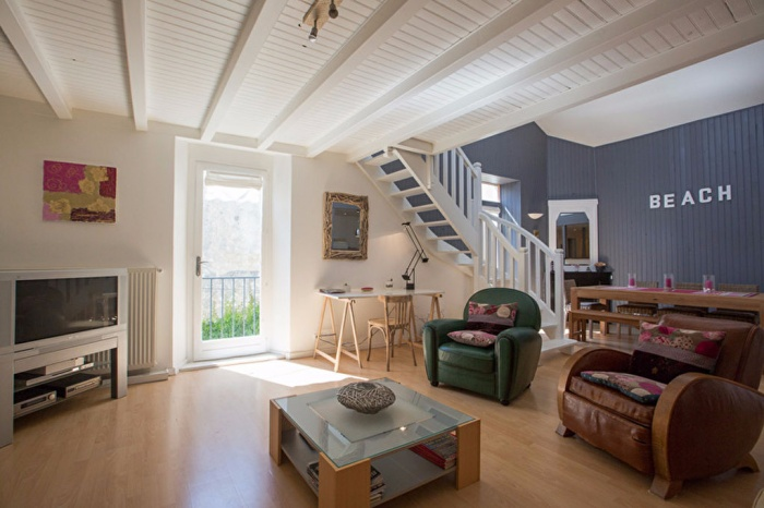 Exclusivité Quartier d'Espagne appartement en duplex avec balcon