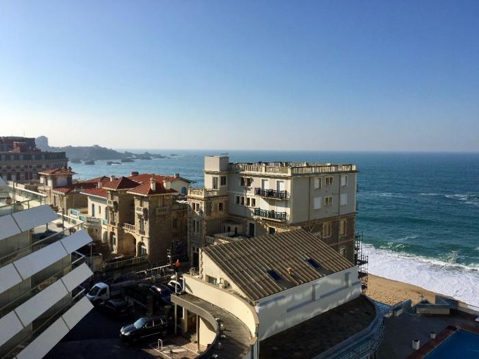 Terrasse Vue Mer Biarritz : Biarritz T1 avec terrasse vue mer Achat appartement