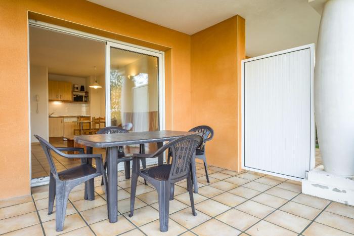 T2 avec jardin dans r sidence avec piscine socoa achat for Achat appartement avec jardin