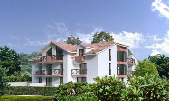 aguil ra parc d 39 hiver appartement t3 avec terrasse et jardin achat appartement biarritz. Black Bedroom Furniture Sets. Home Design Ideas