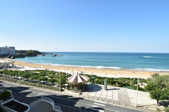 Biarritz Centre T1 vistas al mar