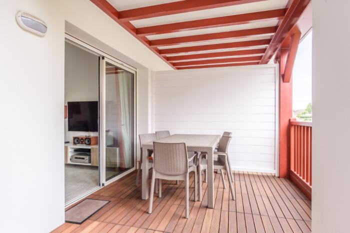 Quartier plage, 2 pièces + mezzanine résidence récente