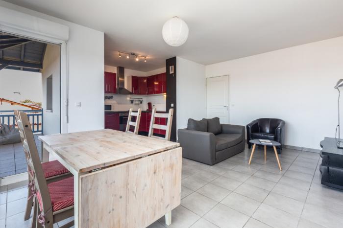 Appartement au centre ville et à 7 mn du lac d'Hossegor