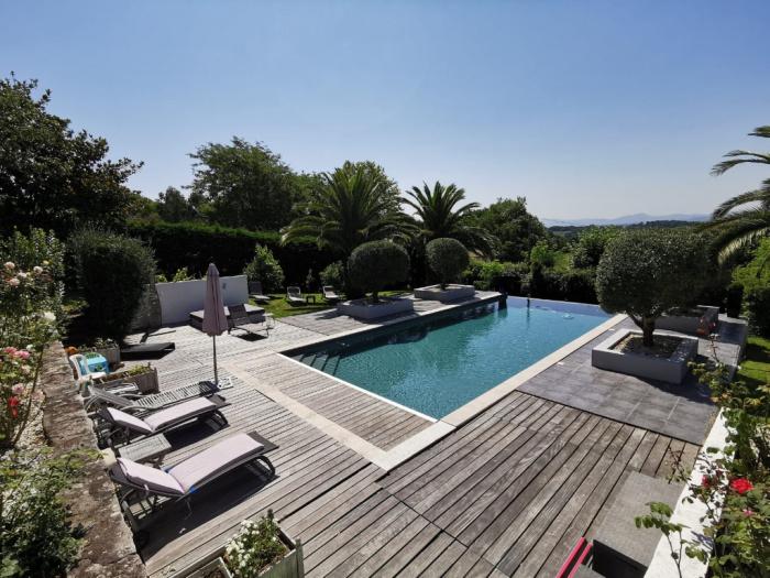 Magnifique villa dans un cadre exceptionnel.