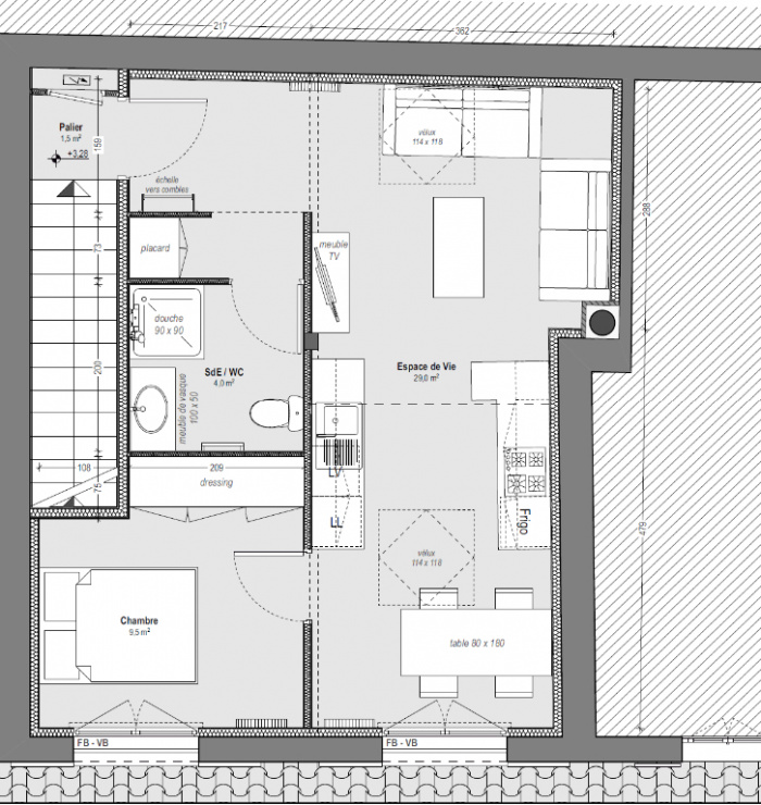 Appartement neuf au coeur de Capbreton