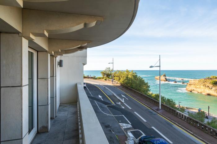 En venta Biarritz Port Vieux apartamento 4 habitaciones vista mar