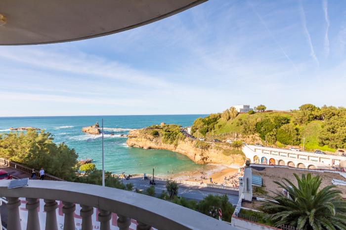 A vendre Biarritz-Port Vieux appartement 3 pièces vue mer