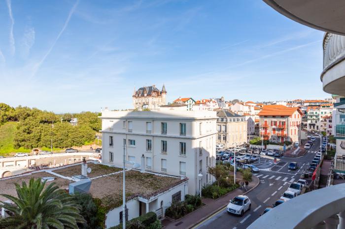 Se vende Biarritz Port Vieux apartamento de 3 habitaciones con vista al mar