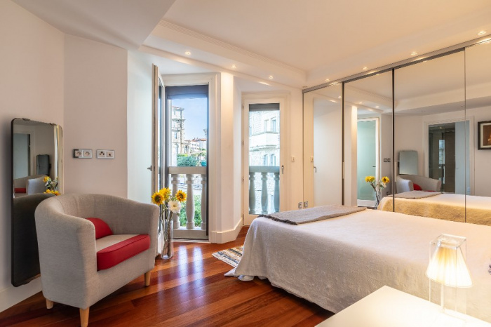 En venta Biarritz Port Vieux apartamento 5 habitaciones vista mar