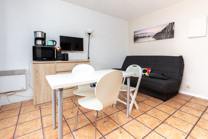 Apartamento T2 cerca de las playas con parking