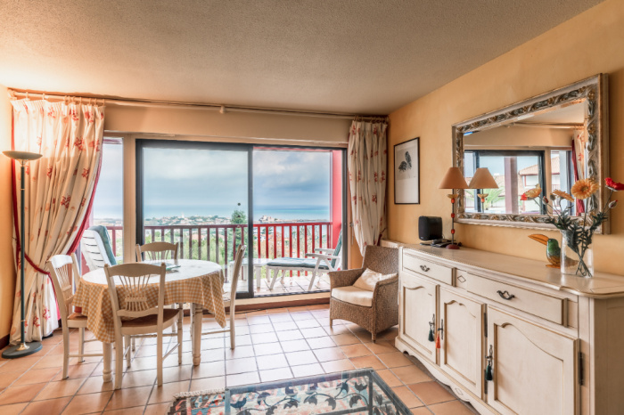 T3 with superb view over the bay of Saint Jean de Luz for sale
