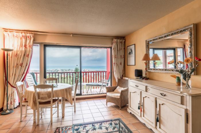 T3 avec superbe vue sur la baie de Saint jean de Luz  à vendre