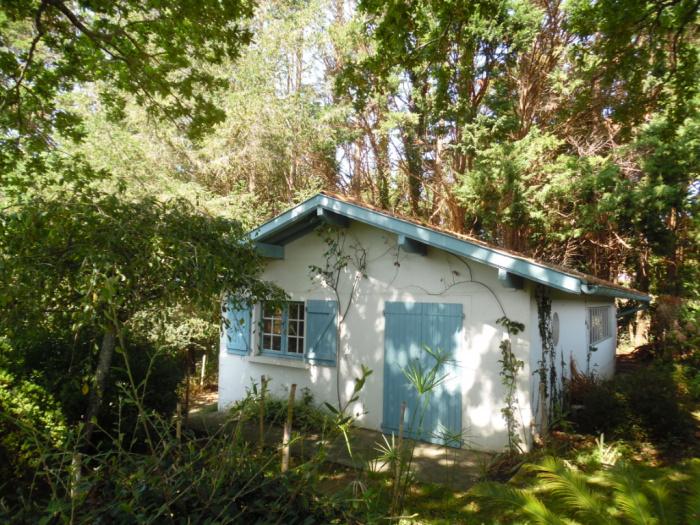 Villa à vendre dans un parc boisé de 1,4he, en bordure d'un chemin rural.