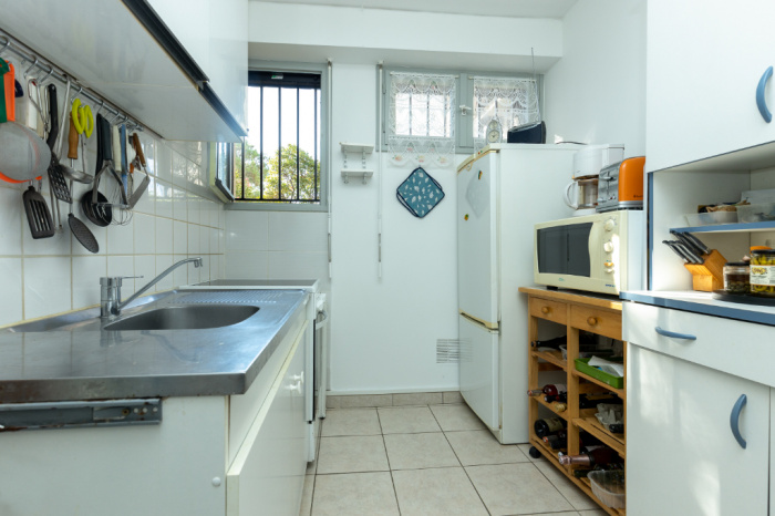 T2 in ground floor of 45m² without vis-à-vis terrace of 13m²