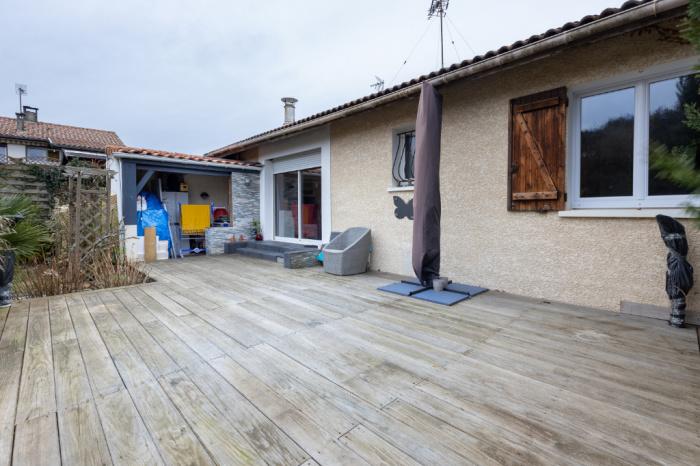Maison de plain-pied à Seignosse plage.
